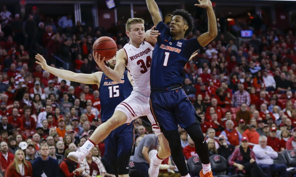 Happ benched, Badgers get boost from Davidson, Iverson in ...