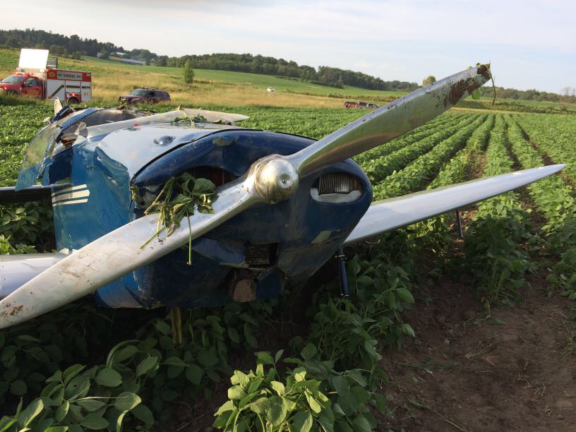 Two injured in Vernon County plane crash - WIZM 92 3FM 1410AM